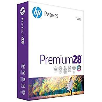 HP Premium28 1 Ream/500 Sheet Paper - $3 off Promo Code on Amazon $10.99