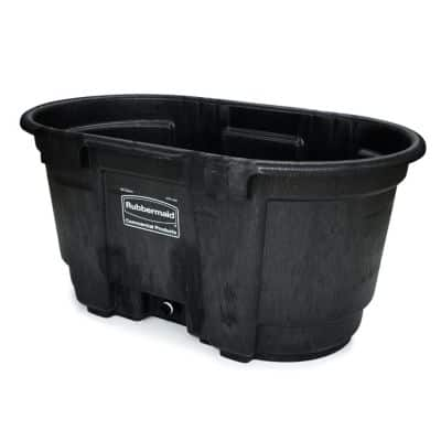100 gal. Rubbermaid Poly Stock Tank $55 w/ $10 of $50 coupon exp. 8/2