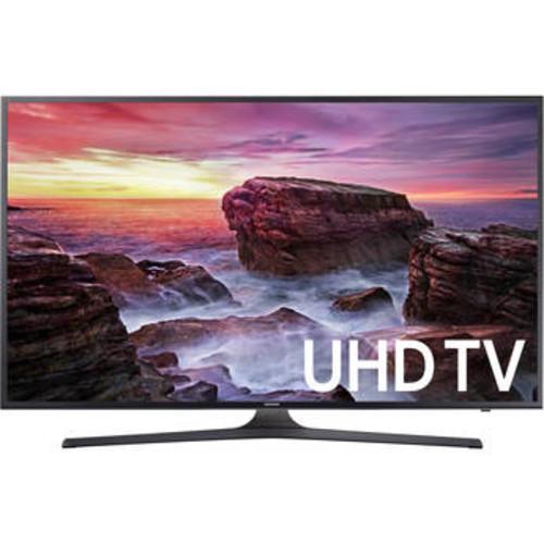55 Samsung UN55MU6290FXZA Flat LED 4K UHD 6 Series Smart TV (2017 Model) @ B&H Photo $497.99