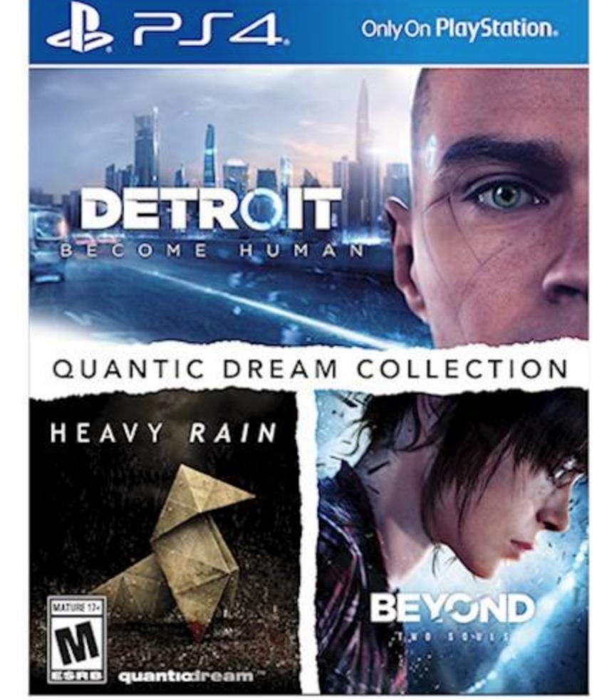 Best Buy GCU - Quantic Dreams PS4 Collection - $31.99