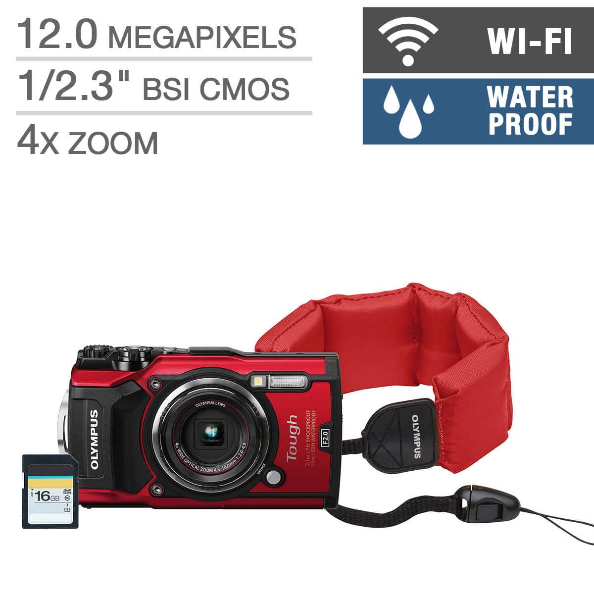 Olympus TG-5 waterproof camera $355 for Costco members, or $399 with no tax outside NY/NJ