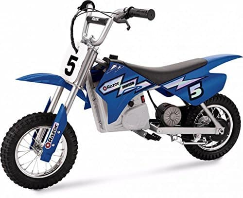Amazon: Kids Razor MX350 Dirt Rocket Electric Motocross Bike - Blue for $175.49 with Clip Coupon. Free Shipping.