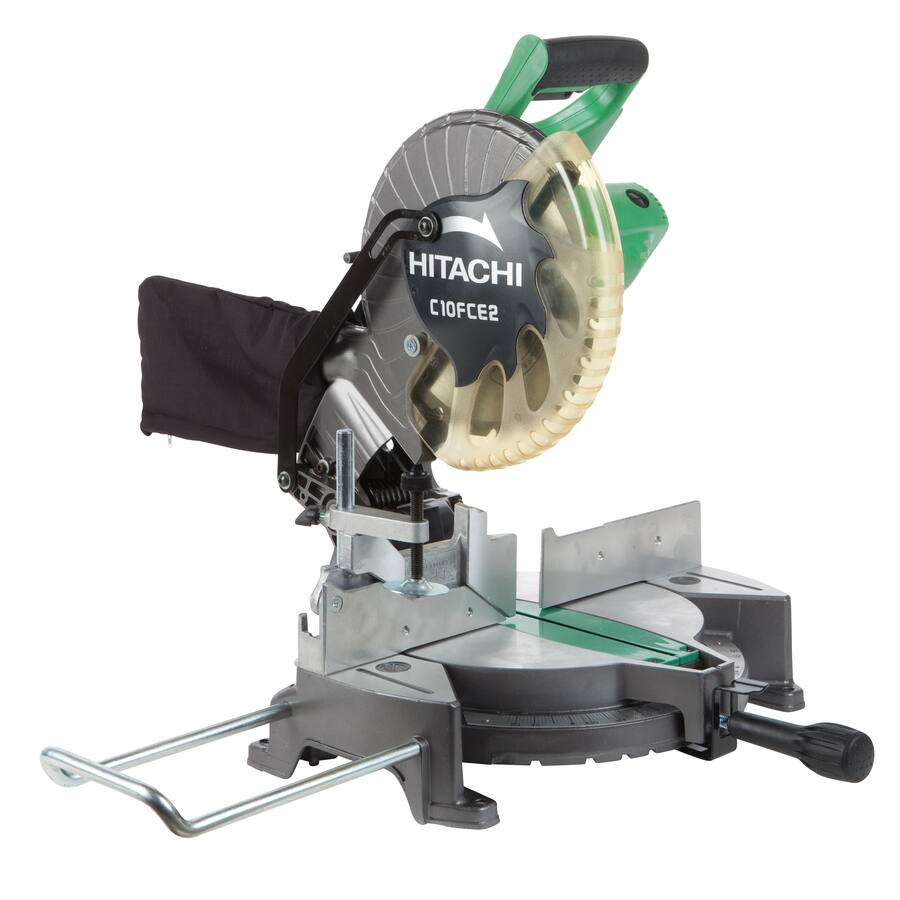 "Lowes 10"" Hitachi Compound Miter Saw $99+tax Free Store Pickup at Lowe's (Back Again)"