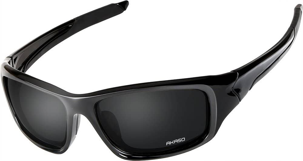 AKASO Polarized Sunglasses 100% UV Protection Sport Sunglasses 50% OFF $8.99 on Amazon