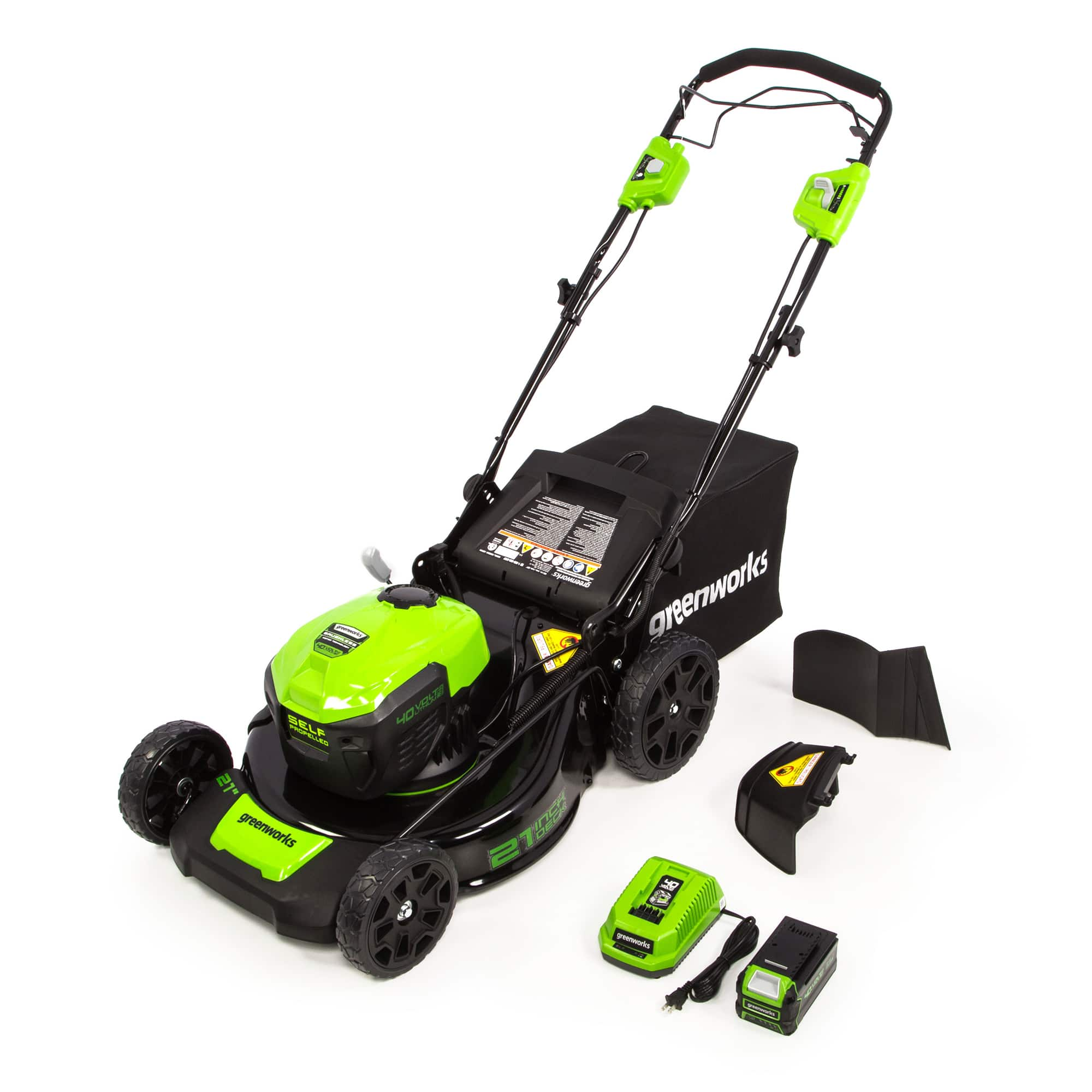 YMMV Greenworks 21-Inch 40V Self Propelled Mower 5Ah Battery 2516402 $89