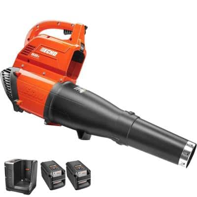 ECHO 120 MPH 450 CFM 58-Volt Lithium-Ion Brushless Cordless Blower with TWO 2 Ah-Batteries @Home Depot for $198.72 & Free Shipping