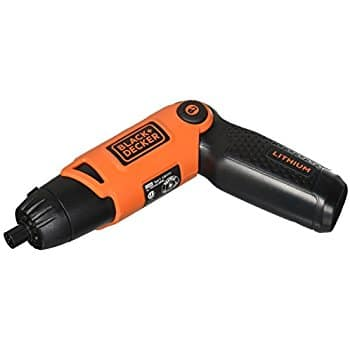 Black and Decker LI-ION Rechargeable Screwdriver at Amazon for $15.30 - Prime Shipping