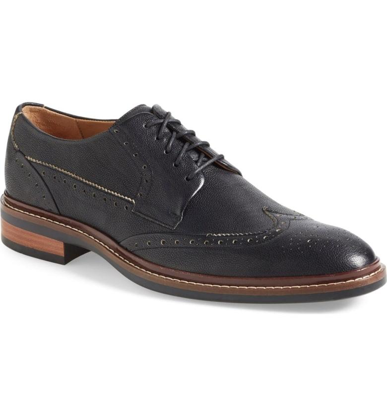 COLE HAAN Warren Welt Wingtip Men's Dress Shoes Black or Brown @ Nordstrom $130 + FS