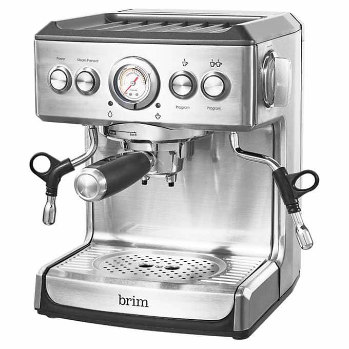 $100 Price Drop On Brim 19 Bar Espresso Machine $260 - Costco