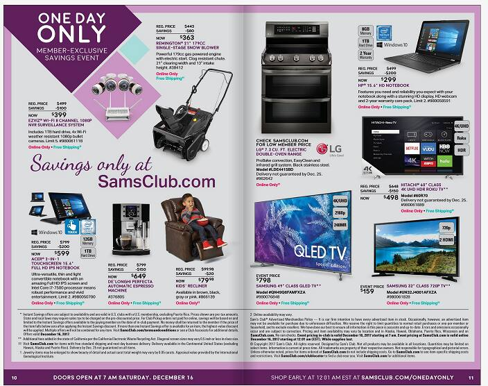 """Samsung QN49Q6FAMFXZA 49"""" QLED 4K TV at Sams Club for $798"""