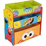 Sesame Street Multi-Bin Toy Organizer $20+Free Pickup@ Walmart
