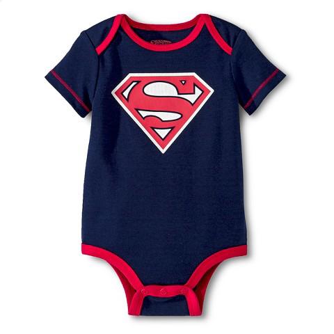 Superman Newborn Boys' Bodysuit $3.75(sizes newborn to 6-9 months) + free shipping @ Target