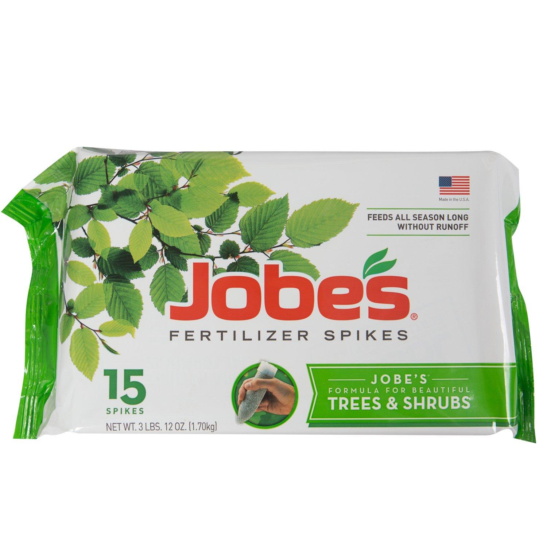 Jobe's Tree & Shrub Fertilizer Spikes, 15 Spikes [Tree & Shrub] $5.86
