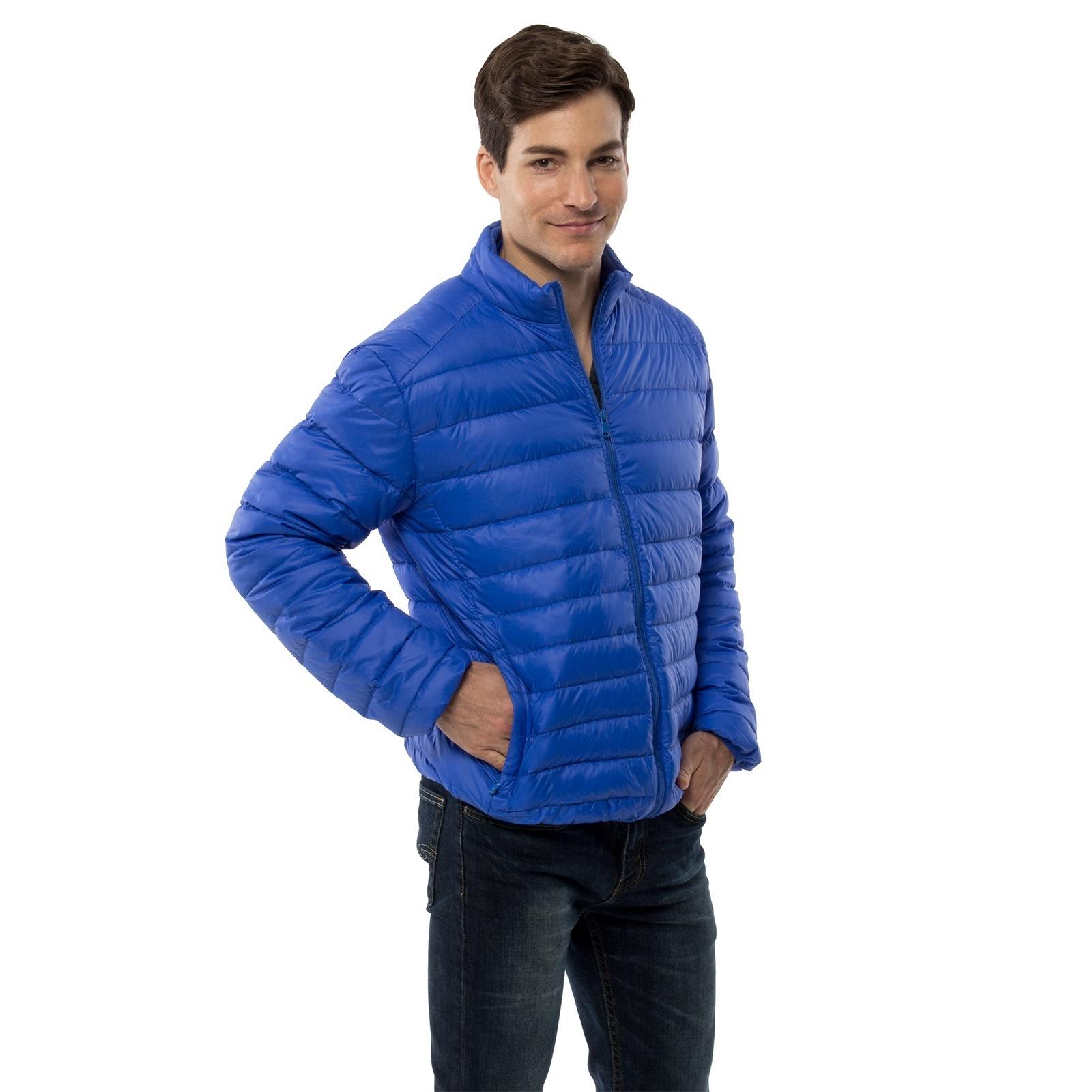 bab5becb28d Alpine Swiss Niko Men's Down Jacket Puffer Bubble Coat Packable Light Warm  Parka $24.99