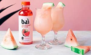 Amazon Prime Members:Bai Kula Watermelon Antioxidant Infused Drinks 18 Fluid Ounce Bottles 12 count $17.00