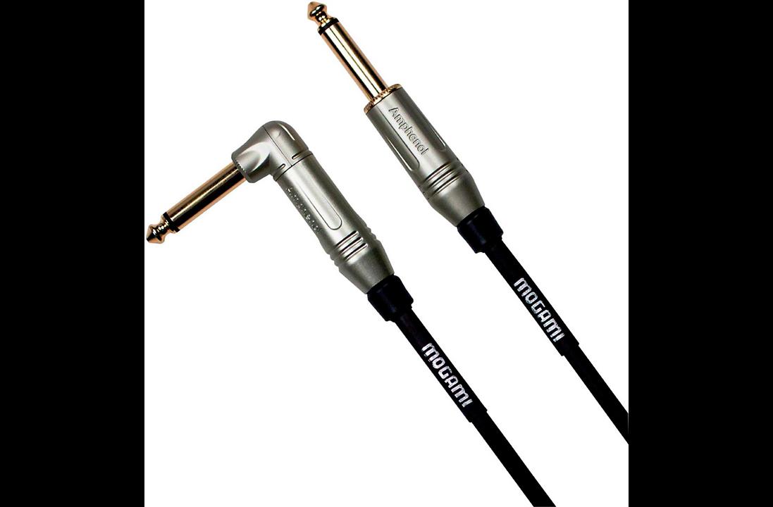 Mogami Guitar and Instrument Cables Starting at $0.87 per foot + FS @ MusiciansFriend.com w/code rocktober19