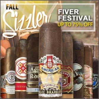 5-Pack of cigars 54% to 75% off.  900+ to choose from. Free shipping over $49