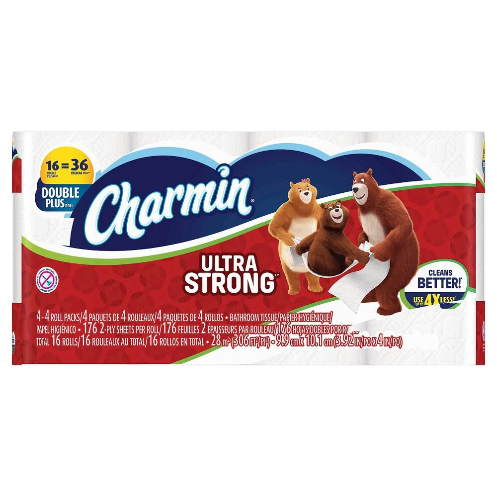Charmin Toilet Paper On Sale: Charmin Ultra Soft/Strong Toilet Paper