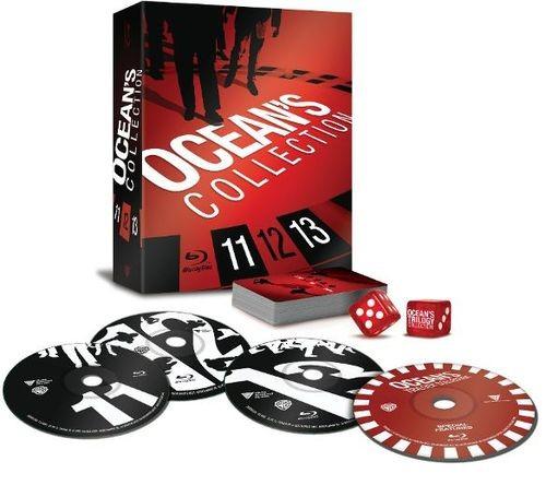 Ocean's Eleven/Ocean's Twelve/Ocean's Thirteen [4 Discs] [Blu-ray] = $16.99 @BestBuy