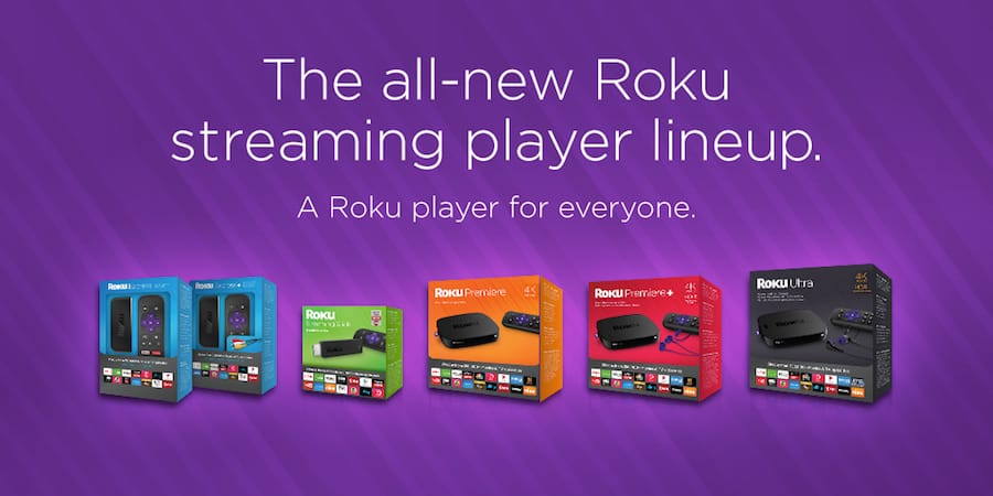 Roku Express (available in Oct) = $29.99 (5 new roku streaming devices announced)