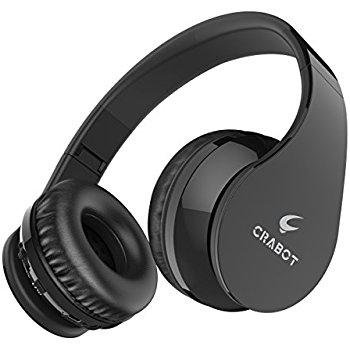 Crabot Wireless Bluetooth 4.1 Headphones  $17.4  Amazon