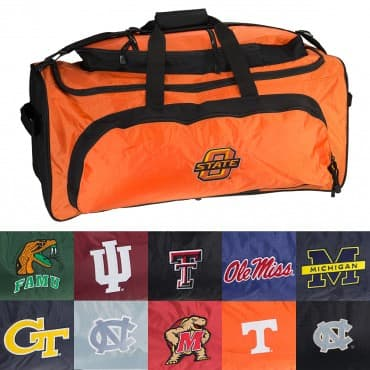 "NCAA Heavy Duty 27"" Duffle Bag - $16.99 + Free Shipping at Deal Genius"