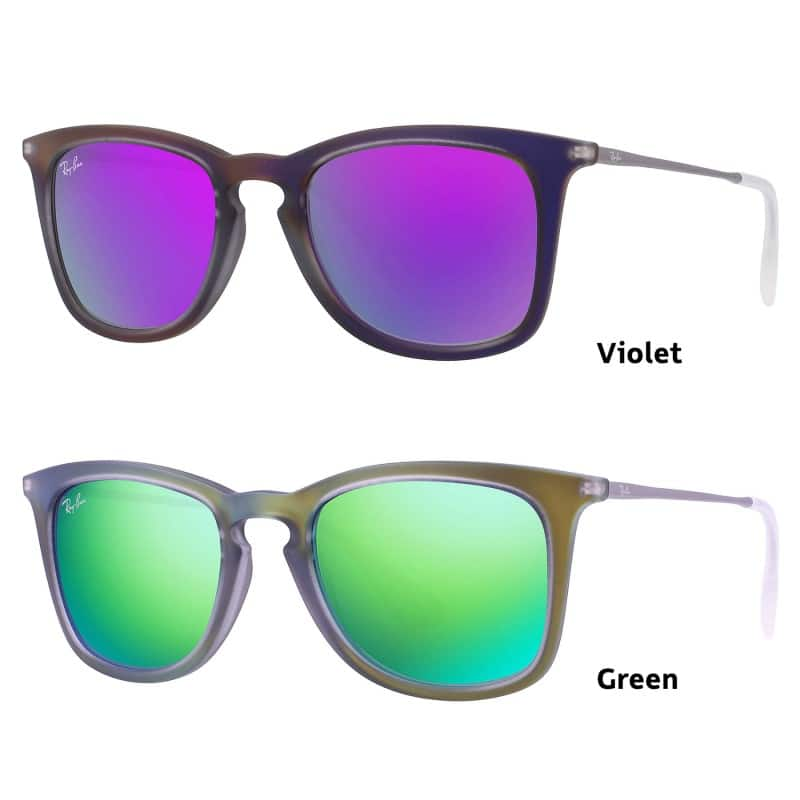 Ray Ban Highstreet (Violet or Green) - $59.99 + Free Shipping at Shnoop