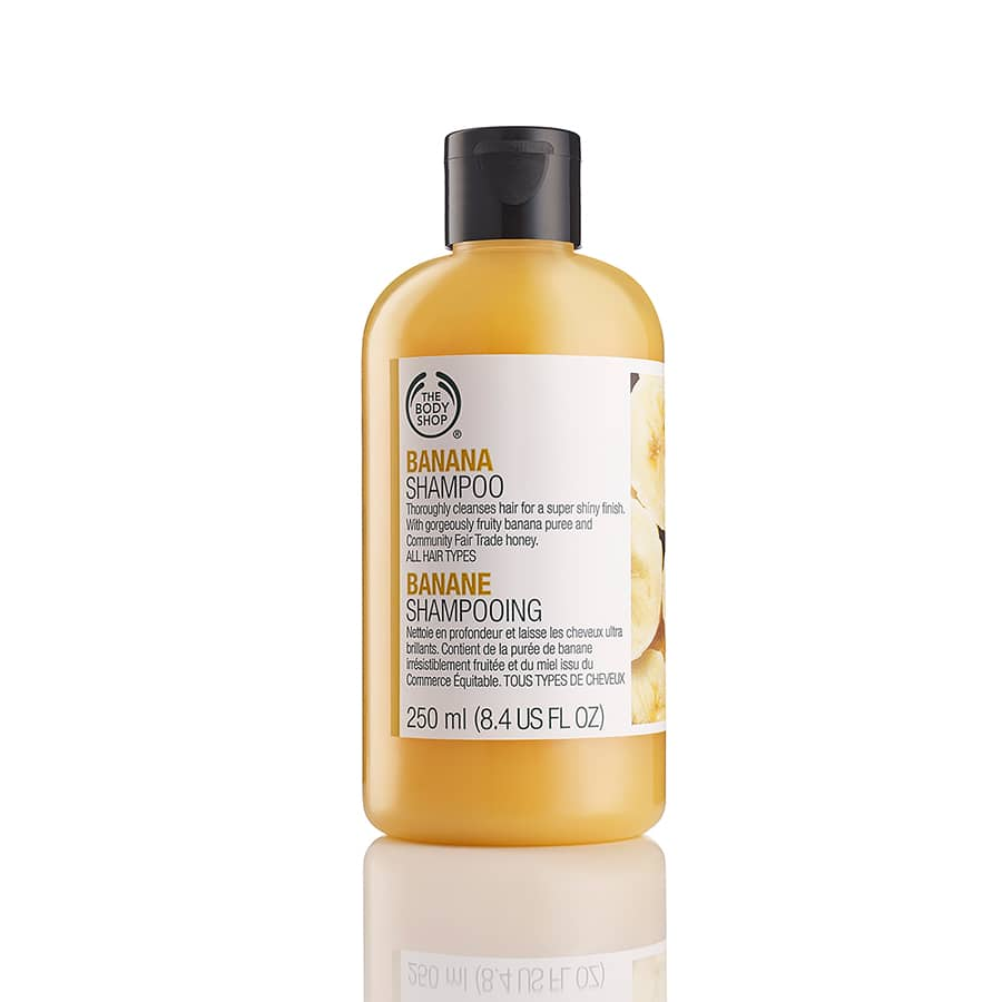 40% Off + Free Shipping at The Body Shop - Banana Shampoo & Conditioner - $9.60