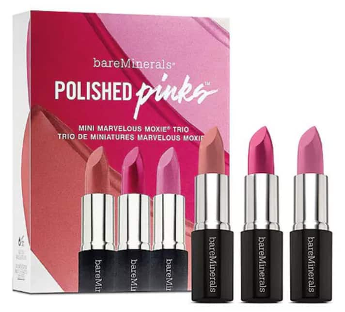 BareMinerals Polished Pinks - $7 + Free Shipping at Spring