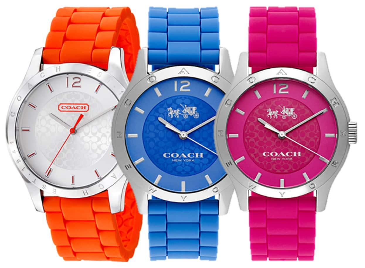 Coach Women's Maddy Watches -  $62 + Free Shipping at Ashford