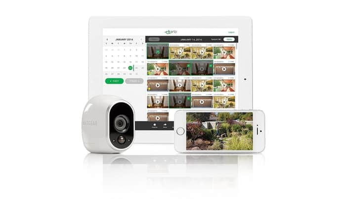 Arlo Security System by NETGEAR - 2 Wire-Free HD Cameras, Indoor/Outdoor, Night Vision + Extra Outdoor Mount (New Version) - $239.99 + Free Shipping at Groupon