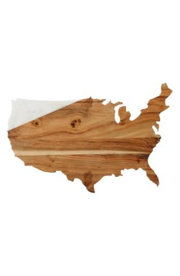 USA Marble & Wood Serving Board - $19.98 + Free Shipping at Nordstrom
