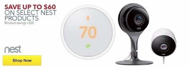 Best Buy Weekly Ad: Save up to $600 on Select Nest Products for $139.99