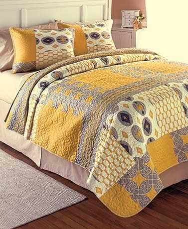 3-Pc Full/Queen Printed Quilt Set - $20.98 Shipped at LTD Commodities