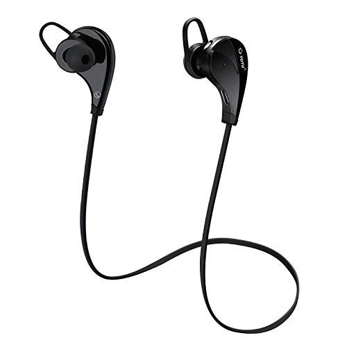 TOTU Bluetooth Noise-Isolating Sweatproof Headset - $7.99 + Free Prime Shipping