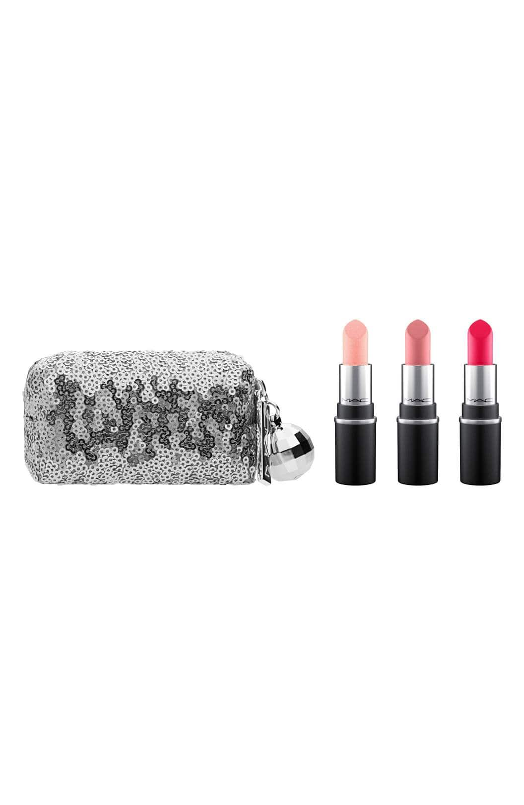 Mac Snow Ball 3-ct. Mini Lipstick or Pigment & Glitter Sets - $22.13 + Free Shipping at Nordstrom