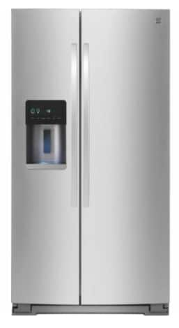 Kenmore 21 cu. ft. Side-by-Side Refrigerator (Stainless Steel) - $1079.99 at Sears