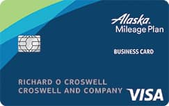 Alaska Airlines Visa® Business credit card: 40K Bonus Miles w/ $2K in eligible purchases