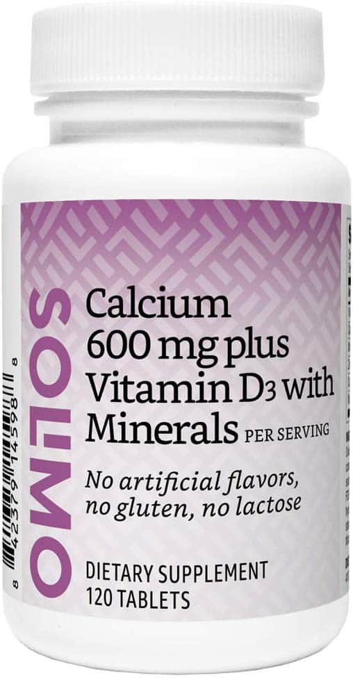 50% Off Select Vitamins: 120ct Calcium 600mg + Vitamin D3 (1600 IU) - $4.16 after S&S + Free Prime Shipping