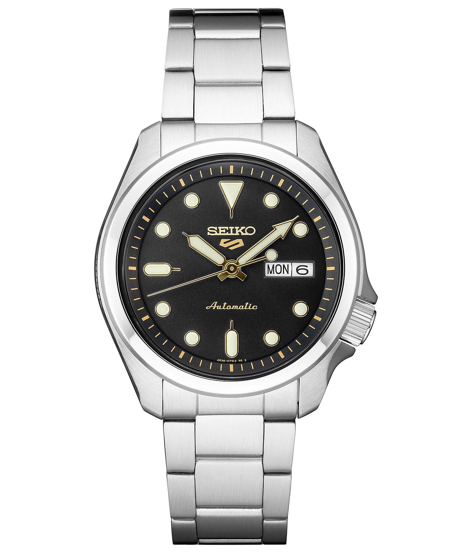 Seiko Men's Automatic 5 Sports Stainless Steel Bracelet Watch 42.5mm $176