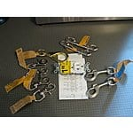 Lowes ,  snap swivel hooks Dog leash hardware . Cable clamps and pulleys .