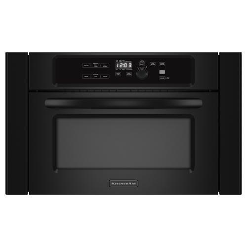 Kitchenaid Kbms1454bbl 24 Black Built In Wall Microwave Oven 150 Fs Brandsmart