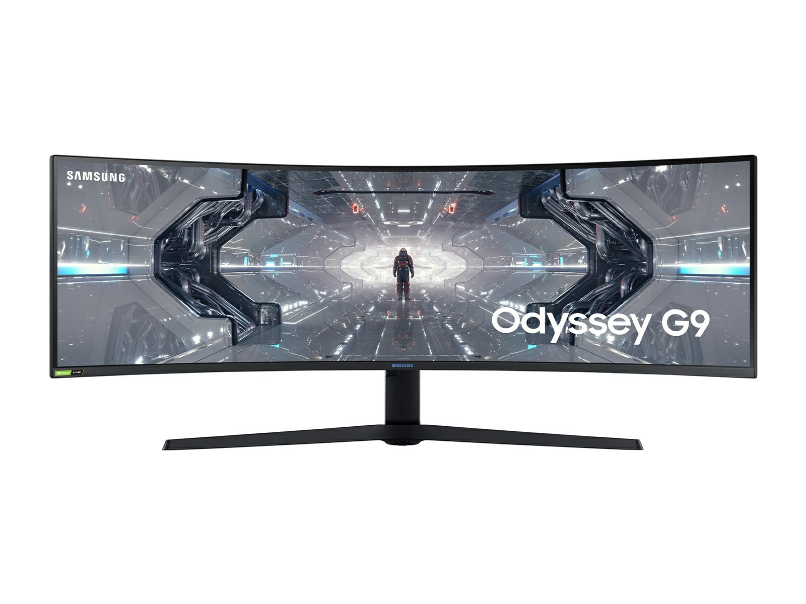 "49"" Odyssey G9 Gaming Monitor Monitors - LC49G97TSSNXDC | Samsung US $1050"