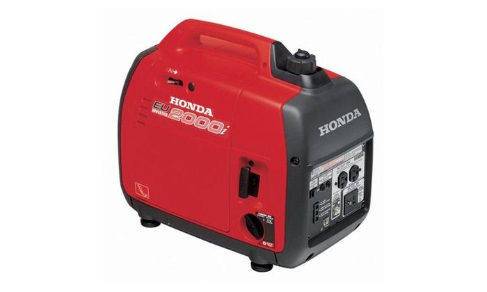 Honda EU 2000 Portable Inverter Generator $522 after tax and shipping
