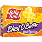 Amazon.com - Jolly Time: Blast O Butter Ultimate Movie Theatre Microwave Popcorn (24-Count Box) - As low as $9.08 w/Free Shipping with S&S