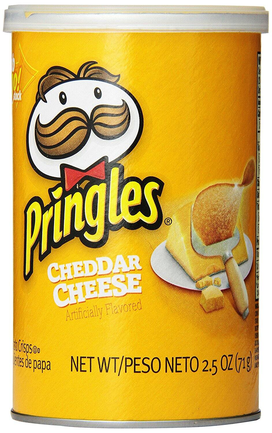 Amazon.com - Pringles Cheddar Cheese Grab and Go Pack, 2.5 Ounce (Pack of 12) - As low as $5.30 with Free Shipping w/S&S