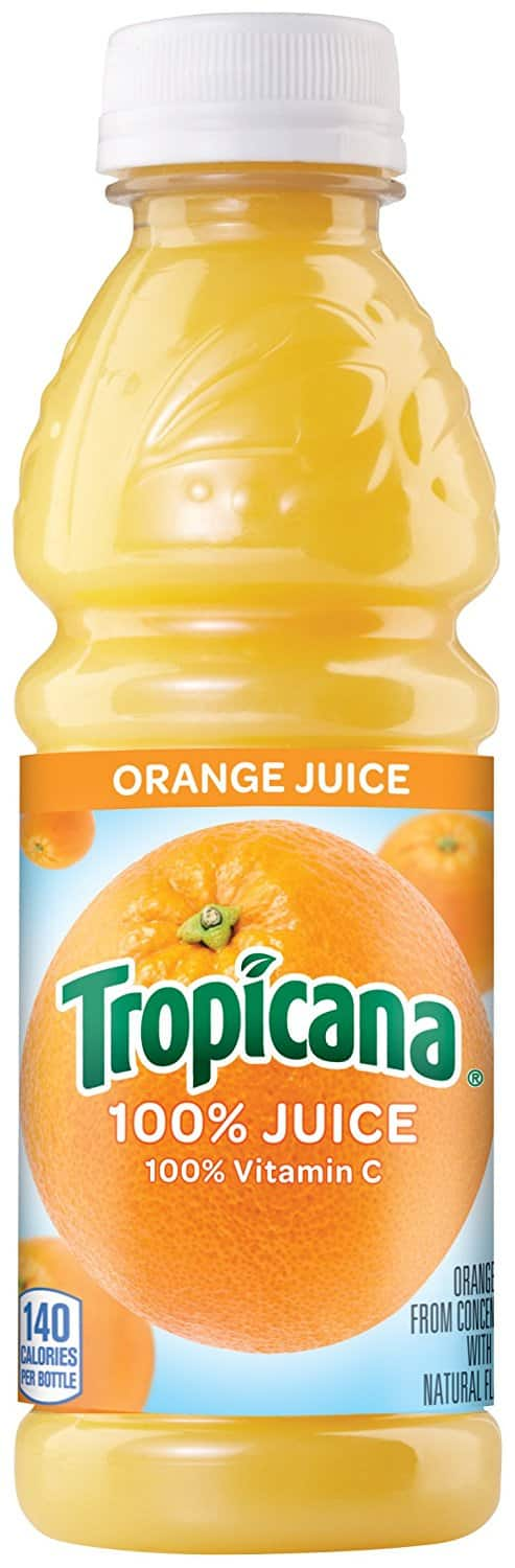 Amazon.com - Tropicana Orange Juice, 10 Ounce (Pack of 24) - $9.49 with Free Shipping w/Prime