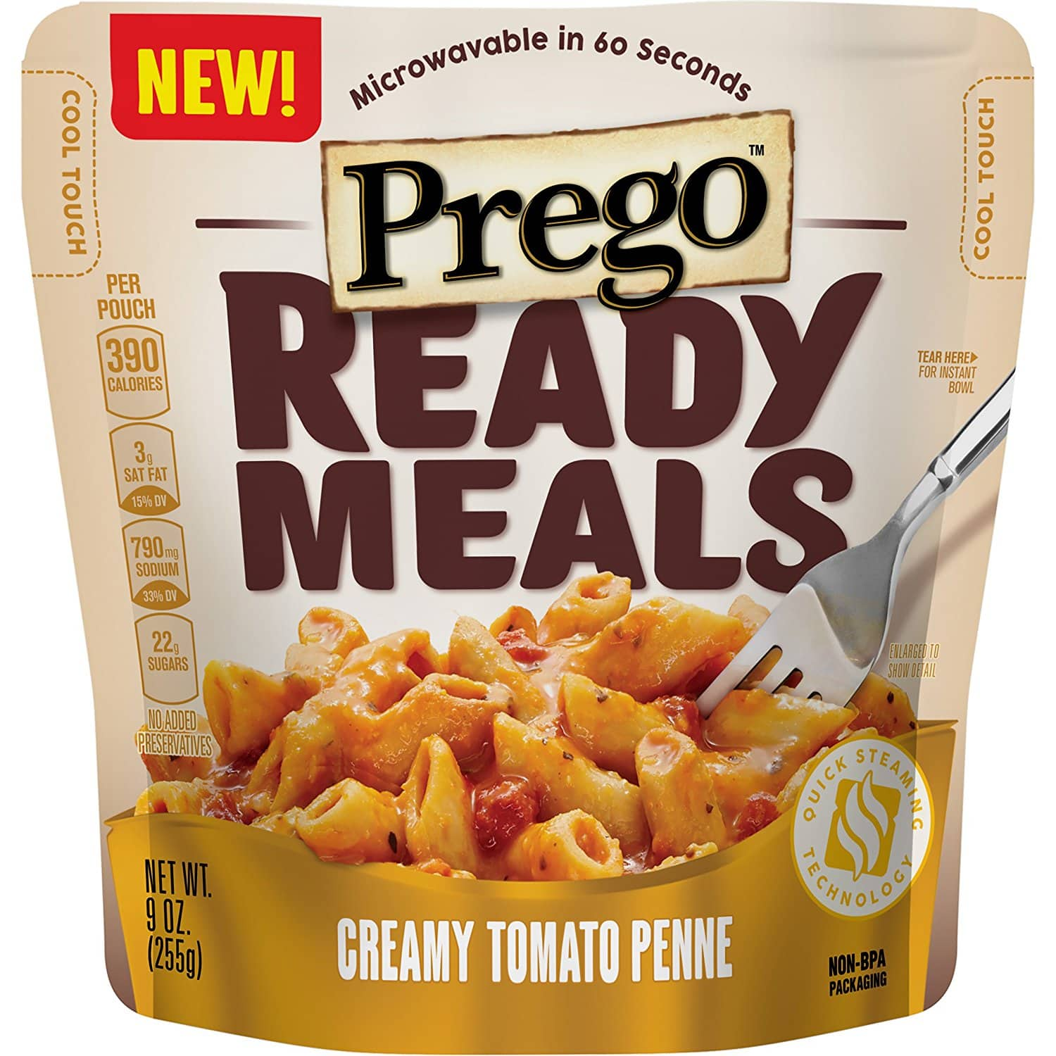 Amazon.com - 6-Pack Prego Ready Meals (9 Ounce) (Multiple Varieties) - As low as $5.32 with Free Shipping w/S&S