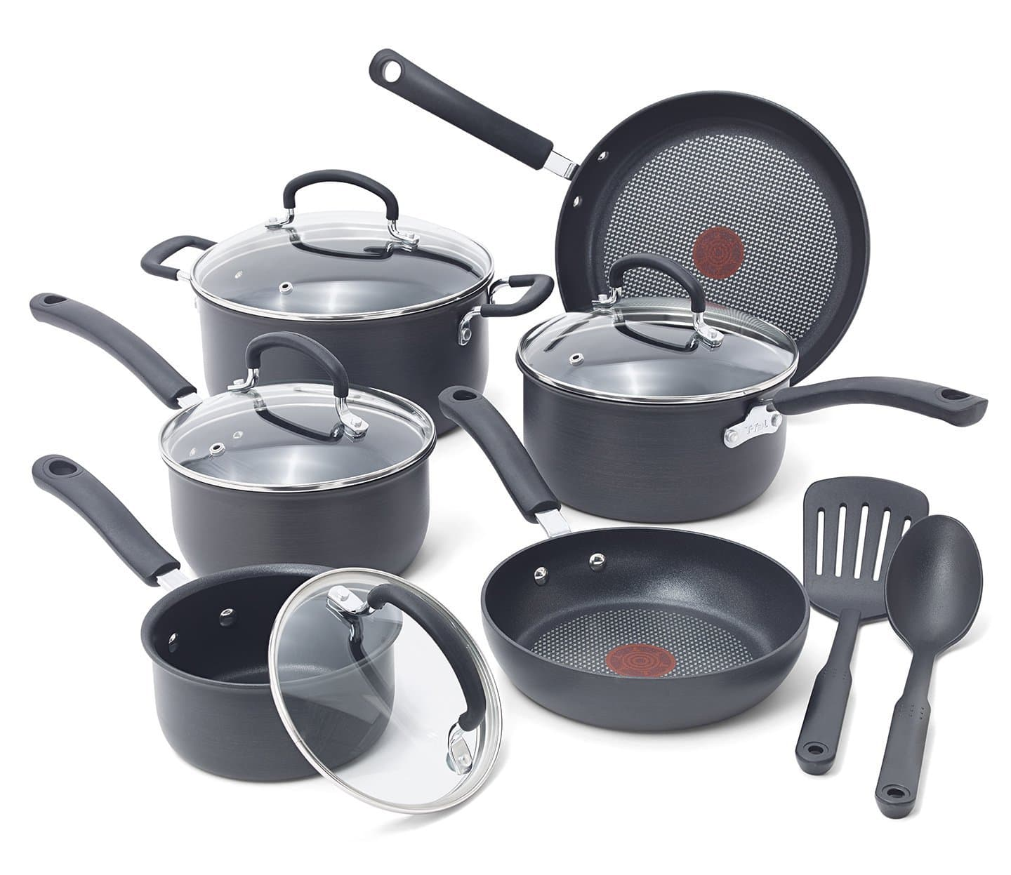 12-Piece T-Fal Ultimate Hard Anodized Nonstick Cookware Set $59.49 + Free Shipping