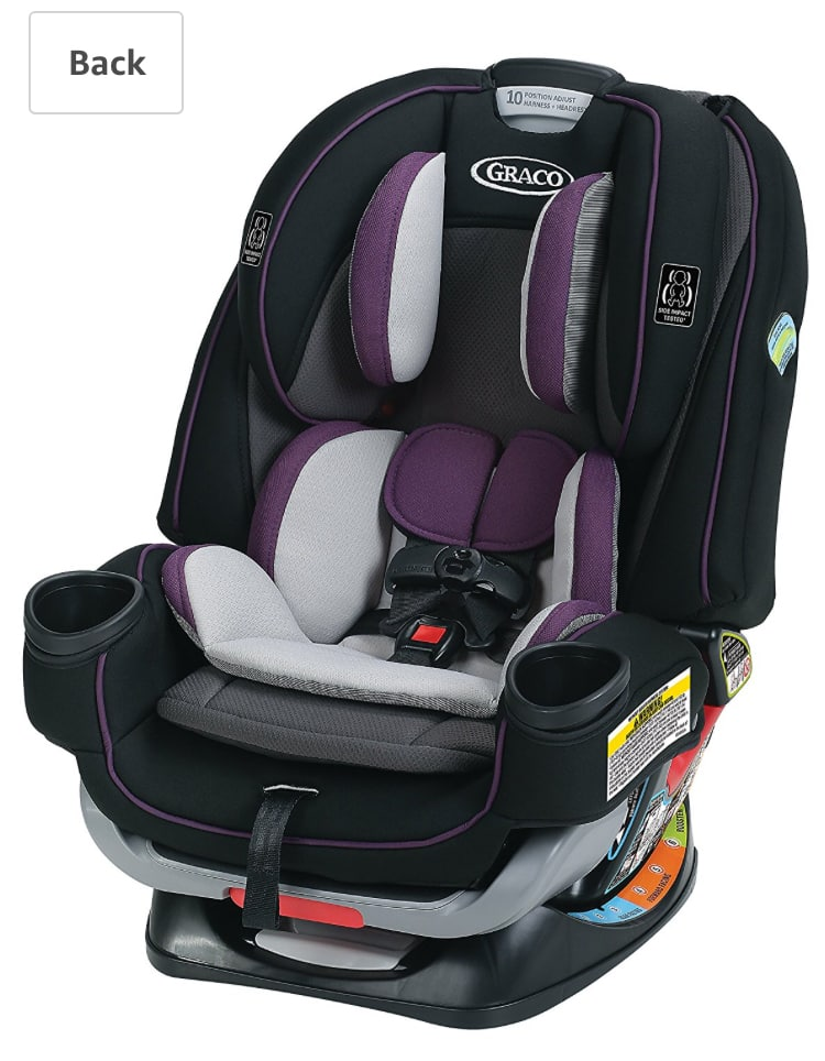 Graco 4Ever Extend2Fit 4-in-1 Convertible Car Seat, Jodie, after clipping coupon -  $196.87